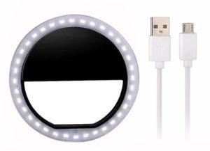 Mobile-Phone-Selfie-Ring-Light-led USB方式